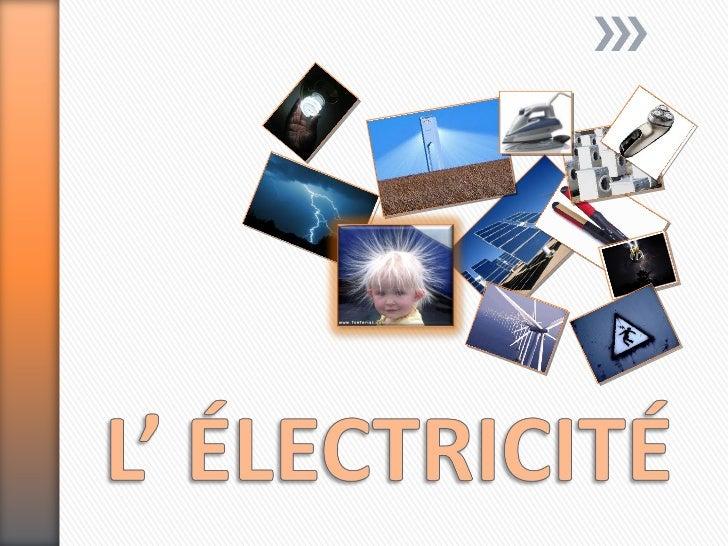 » Charge électrique:   ˃ Propriété de la matière dû à sa structure.» Structure de la matière:   ˃ ATOME: partie la plus pe...
