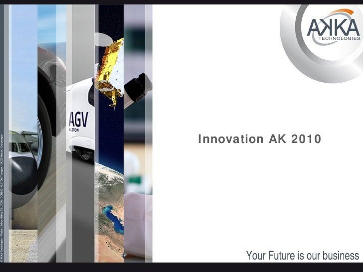 Innovation AK 2010