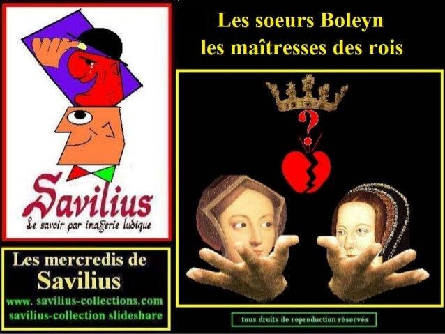 Les soeurs Boleyn