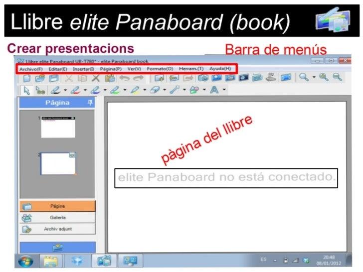 Llibre elite panaboard book UB-T780