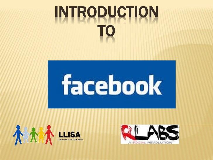 LLiSA Facebook Presentaion