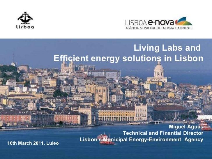 Lisbon Living Lab