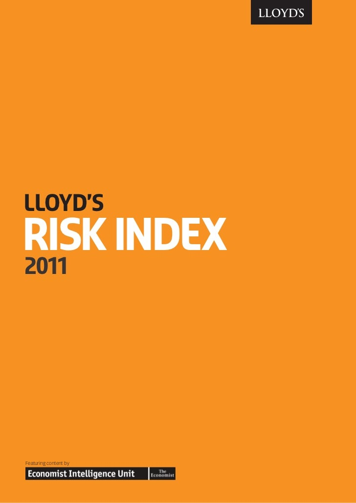 Lloyds Risk Index 2011