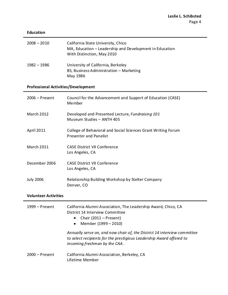 ll schibsted resume april 2012
