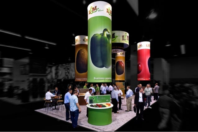 L&m 20x40 trade show booth