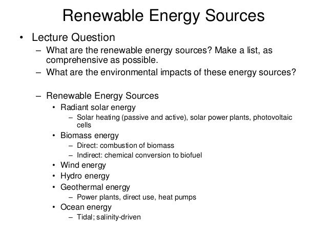 essay on renewable energy sources Free renewable energy papers, essays, and research papers.