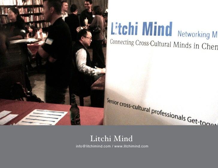 Litchi Mindinfo@litchimind.com / www.litchimind.com