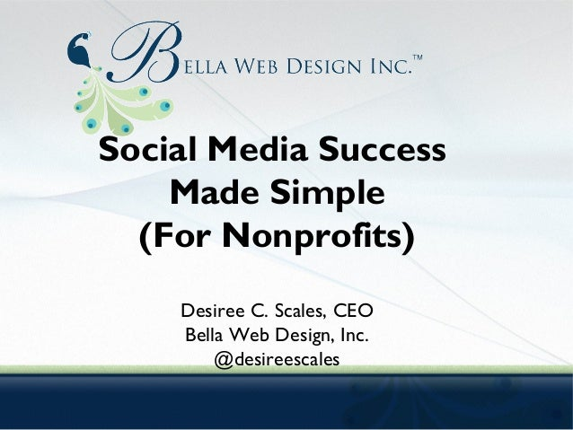 Social Media Made Simple (For Nonprofits)