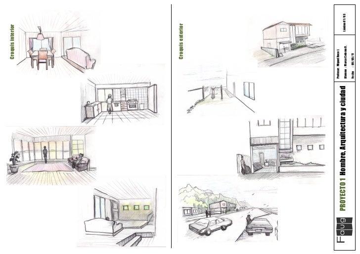 Croquis Arquitectura Interior Croquis Interior