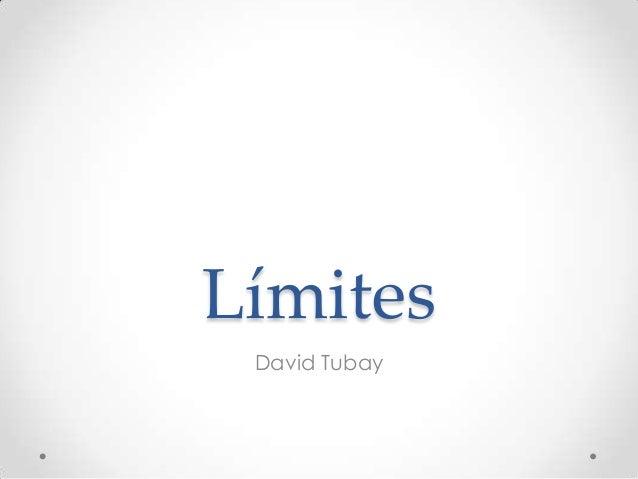 Límites David Tubay