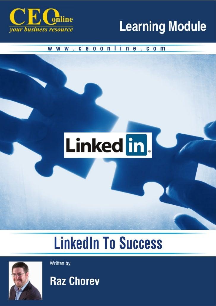 Linkedin to Success