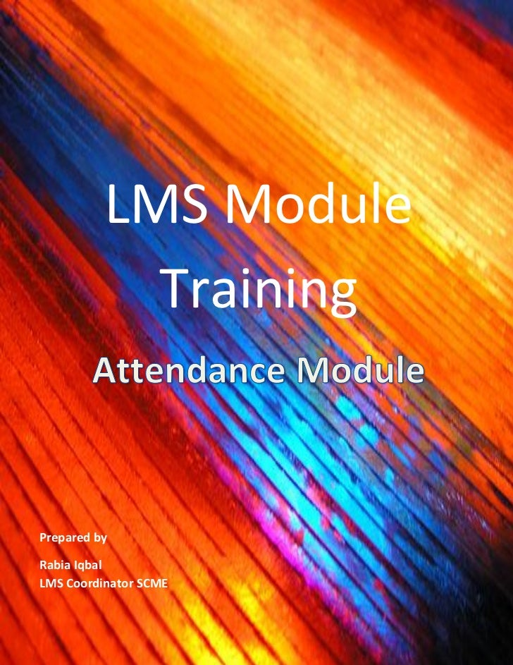 Lms Attendance Module