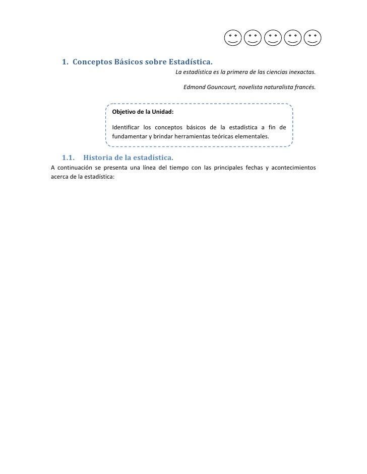 1. ConceptosBásicossobreEstadística.                                                   Laestadísticaeslaprimerade...