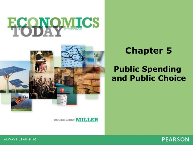 Chapter 5 Public Spending and Public Choice