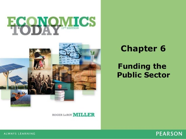 Chapter 6 Funding the Public Sector