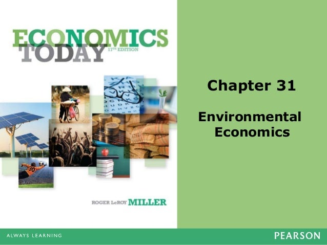 Chapter 31 Environmental Economics