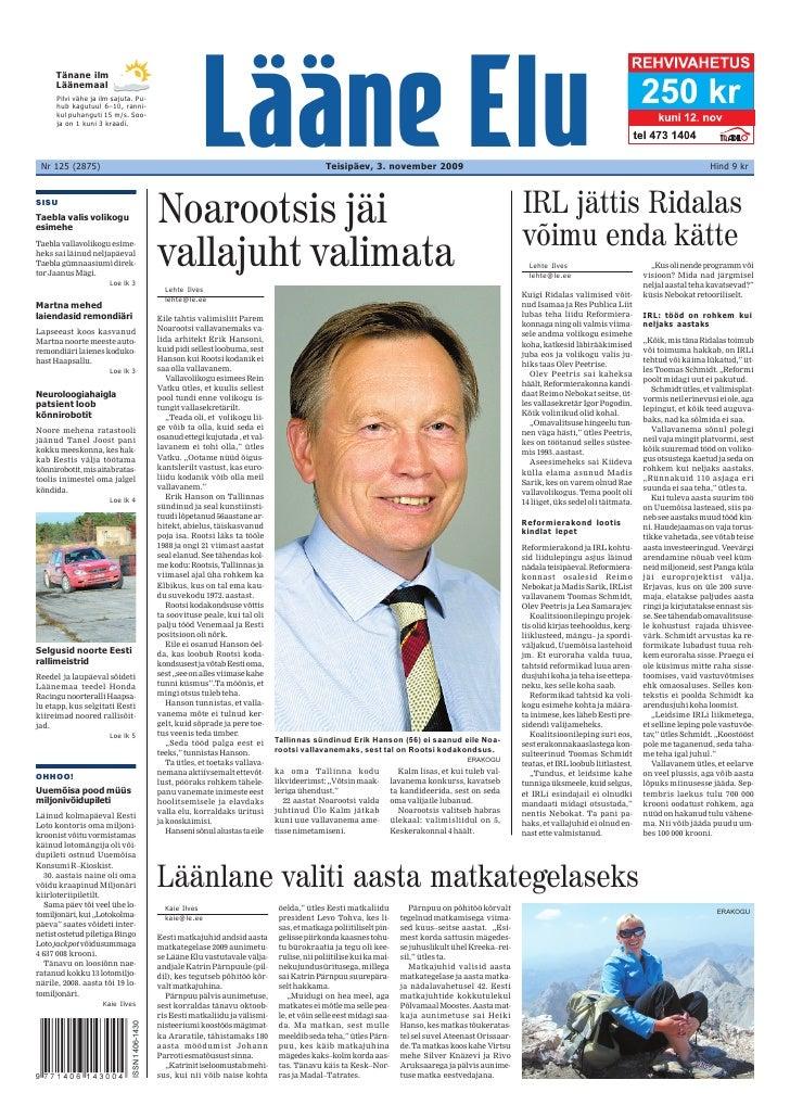 """Läänlane valiti aasta matkategelaseks   Kaie Ilves                       öelda,"""" ütles Eesti matkaliidu           Pärnpuu ..."""
