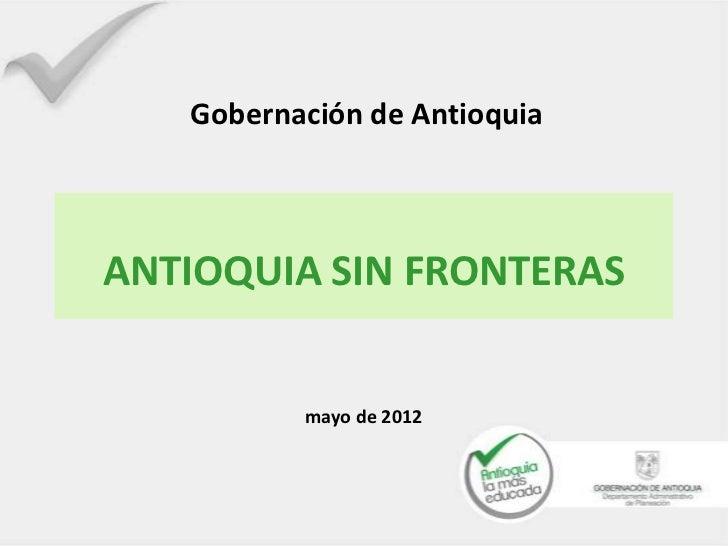 Línea 7   antioquia sin fronteras