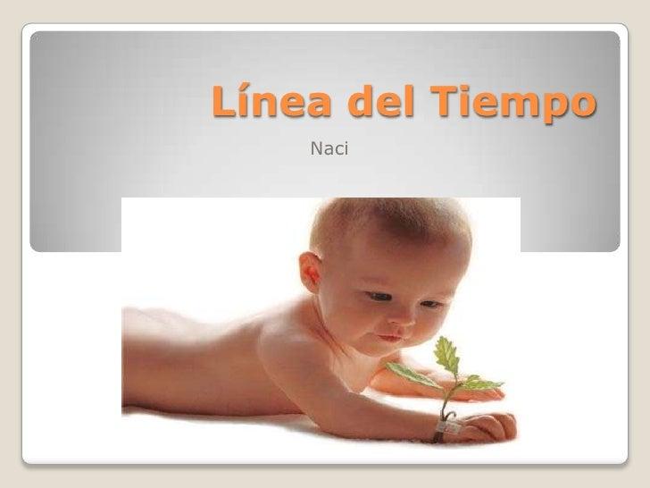 Línea del Tiempo <br />Naci <br />