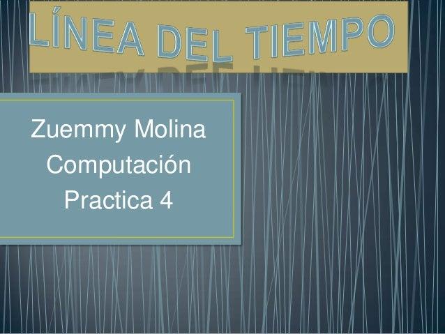 Zuemmy Molina Computación Practica 4