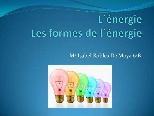 Mª Isabel Robles De Moya 6ºB