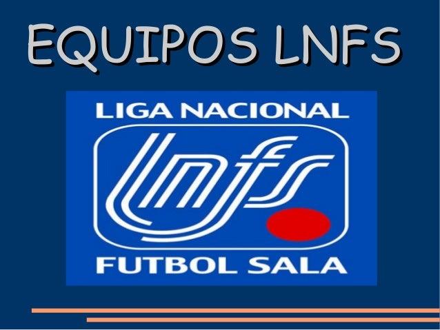 EQUIPOS LNFS