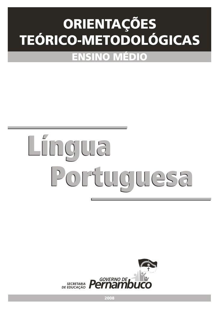 LíNgua Portuguesa Otm