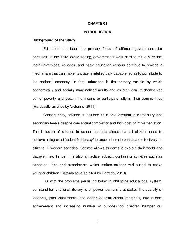 Dissertation on student achievement