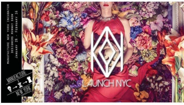 Launch NYC Fashion Show   February 2014   Sponsor Opportunities