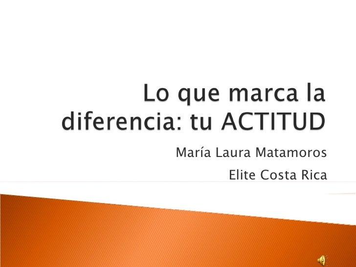 María Laura Matamoros Elite Costa Rica