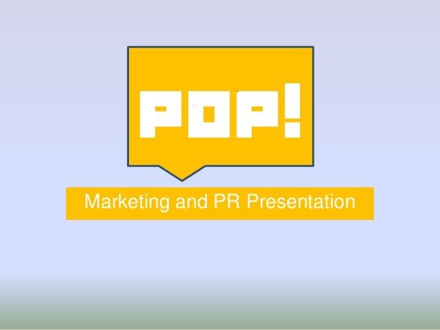 Marketing and PR Presentation