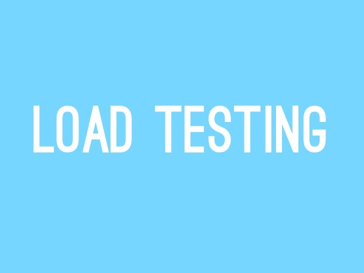 Load testing with Blitz