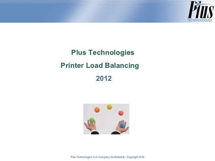 Printer Load Balancing Systems and Benefits