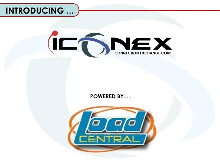 POWERED BY. . .   iCONNECTION EXCHANGE CORP. INTRODUCING ...