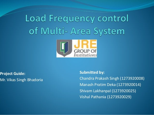 thesis on load frequency control