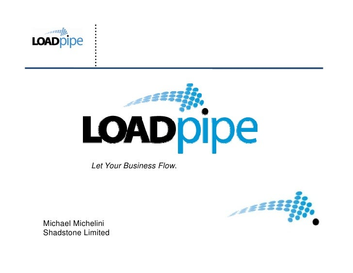 Let Your Business Flow.     Michael Michelini Shadstone Limited