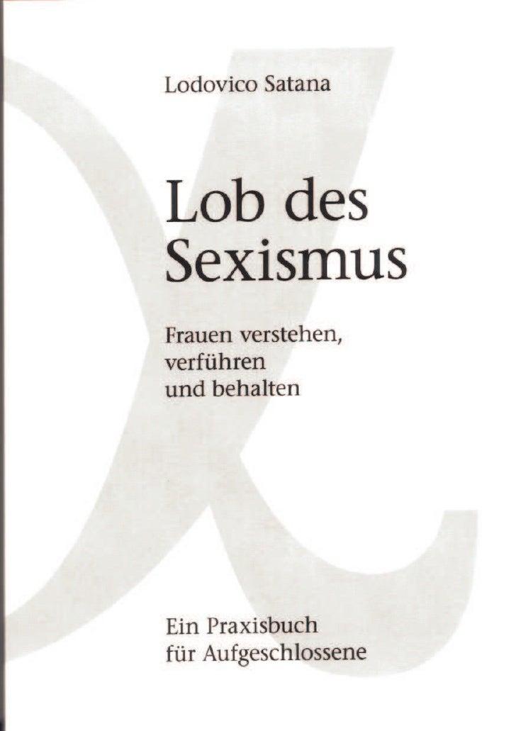 Lob des Sexismus von Lodovico Satana - download pdf ebook