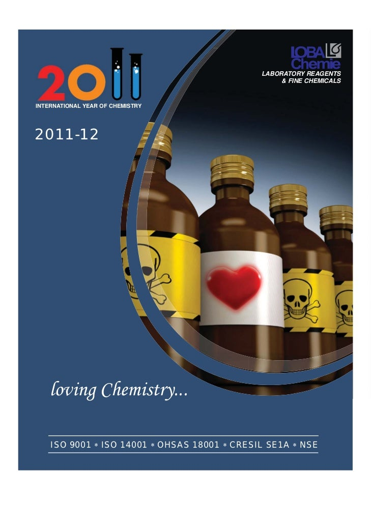 LABORATORY REAGENTS                                                   & FINE CHEMICALSINTERNATIONAL YEAR OF CHEMISTRY2011-...