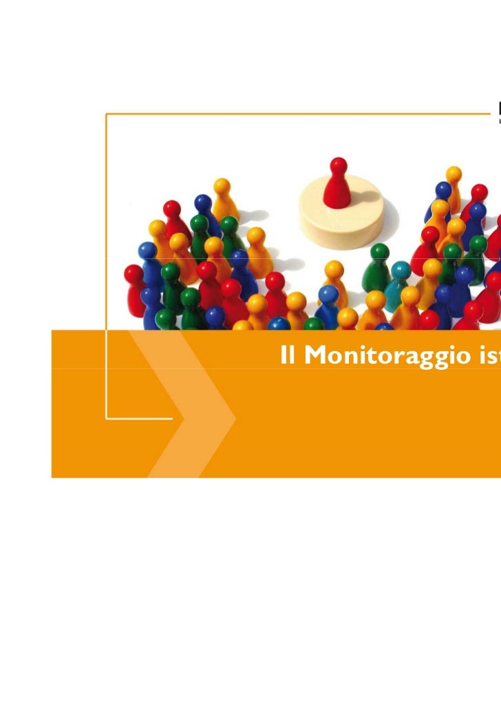 Il Monitoraggio istituzionale                          1
