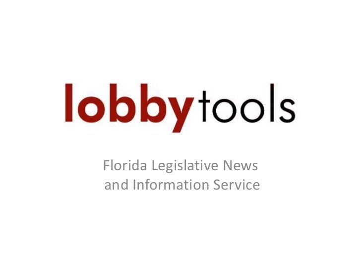 Florida Legislative News and Information Service<br />