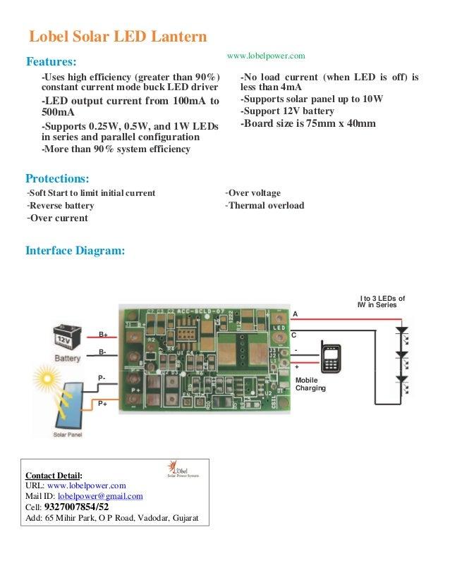 Lobel Solar LED Lantern                                                 www.lobelpower.comFeatures:    -Uses high efficien...