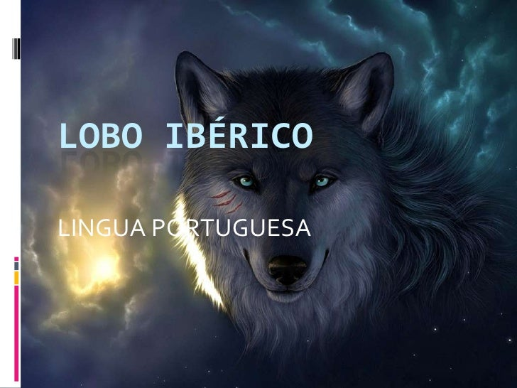 LOBO IBÉRICO<br />LINGUA PORTUGUESA<br />