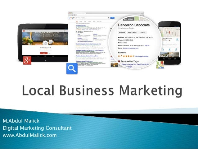 M.Abdul Malick Digital Marketing Consultant www.AbdulMalick.com