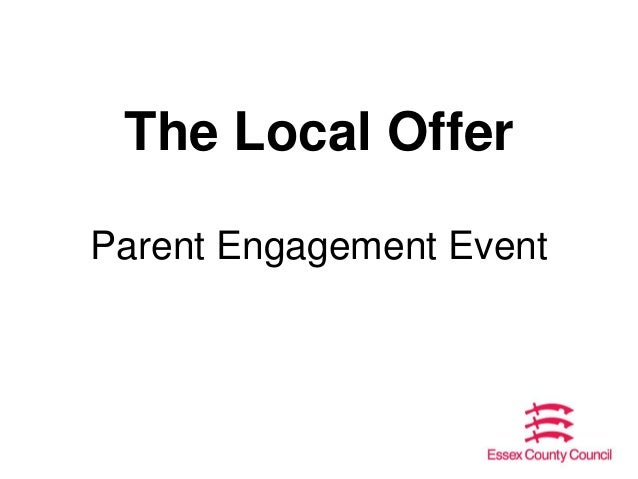 Local offer parent engagement sessions