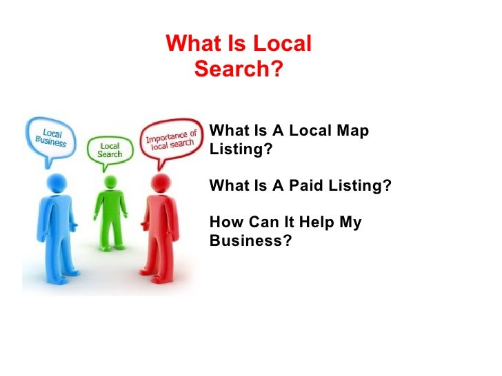 What Is A Local Map Listing? What Is A Paid Listing? How Can It Help My Business? What Is Local Search?