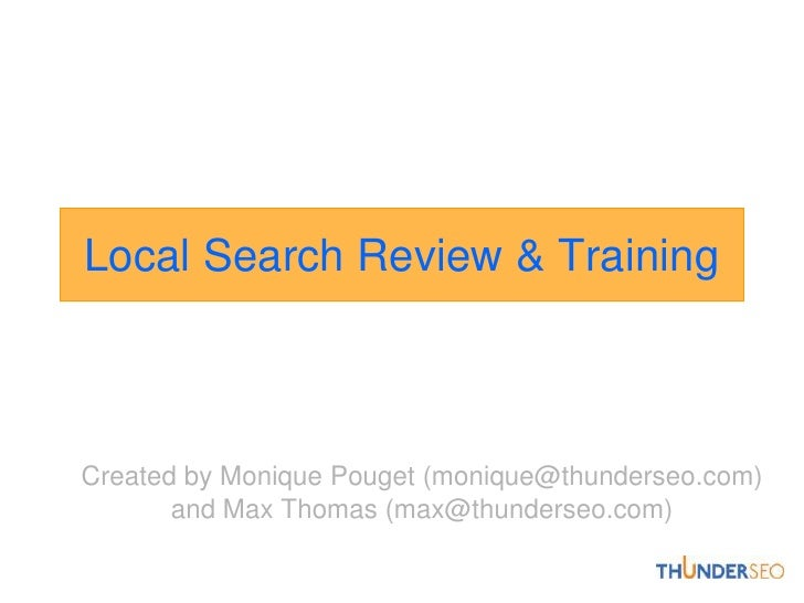 Local-search-training-score
