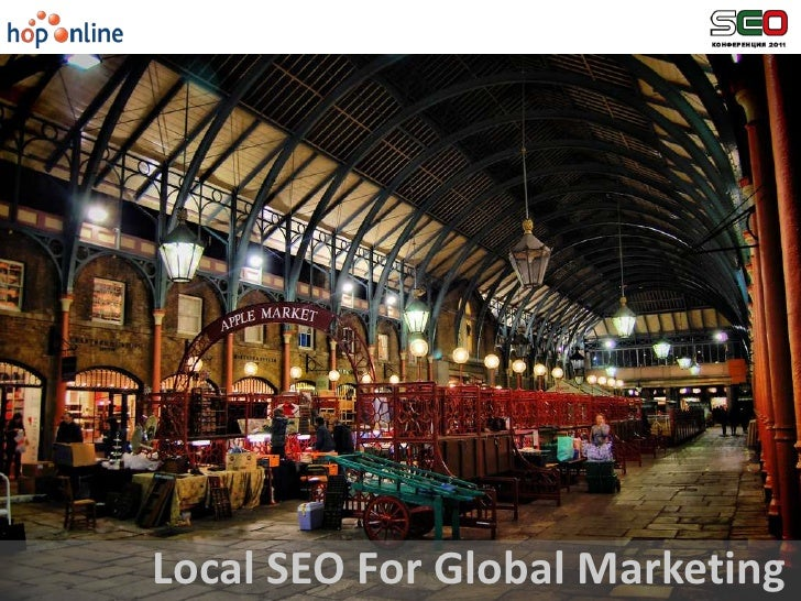 Local SEO For Global Marketing