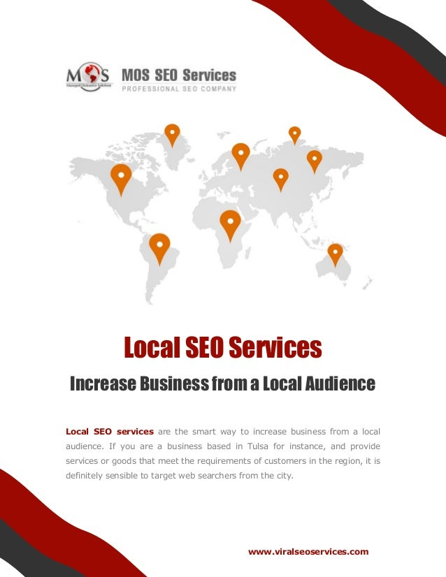 Local SEO Services - Increase Business from a Local Audience