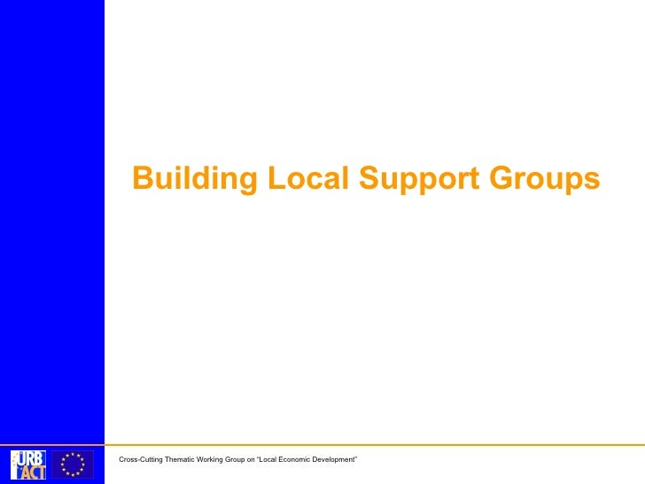 Building Local Support Groups