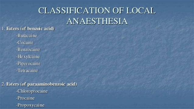 Lokaal anestheticum - Wikipedia